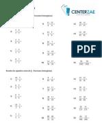 15.-fracciones homogeneas