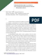 Las Lógicas Universitarrias en Centros de Estudiantes de Unidades Penales La Plata