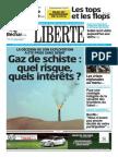 Comment l'Algérie Peut-elle Justifier l'Exploitation de Son Gaz de Schiste Après La Décision Annoncée en Conseil Des Ministres - Liberté Algérie. 1