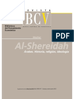 Al- Shereidah:, arabes historia, religion ,ideologia