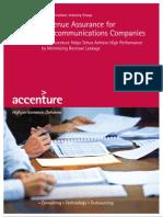 Accenture SalesSheet Revenue Assurance Leakage
