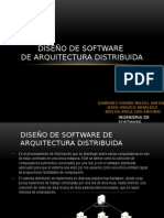 Arquitectura Distribuida de Software