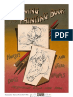 Drawing and Painting Book Horses Dogs and Other Animals
