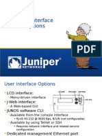 0 User Interfaces -SRX
