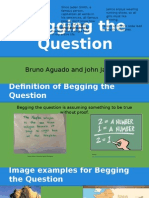 """Begging the Question"" Logical Fallacy Presentation"
