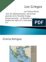 Origen e Inicios de La Filosofia en Grecia