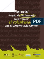 Material Didactico Para Traballar Voluntariado Aula