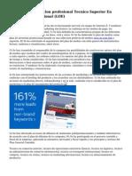 Portal Todo formacion profesional Tecnico Superior En Comercio Internacional (LOE)