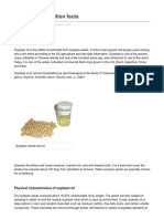 Nutrition and You.com Soybean Oil Nutrition Facts