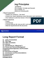 Report Writing Principles Presentation