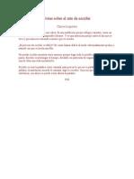 Notas Sobre El Arte de Escribir - Clarice Lispector
