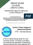 Promoting Health throgh Local Products - 2009. CTID Baucau
