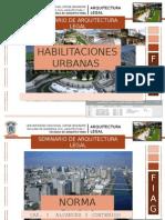 Habilitaciones Urbanas