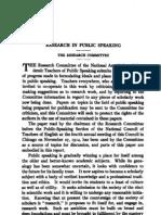 QJPS_research in Public Speaking