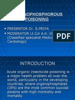 Organophosphrous Poisoning