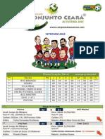 Veterano - Tabela 28-03-2015