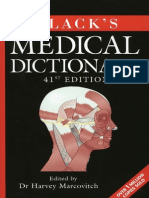 Black's Medical Dictionary, 41st Edition