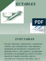 Inyectables Julio 2014