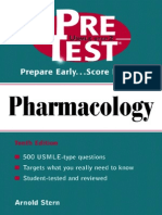 Pre Test Pharmacology