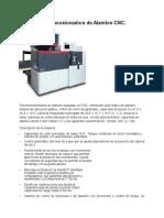 Electroerosionadora de Alambre CNC