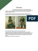 Trajes Típicos de Los Departamentos de Guatemala