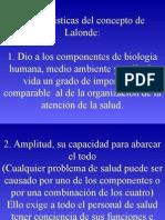 Características Del Concepto de Lalonde