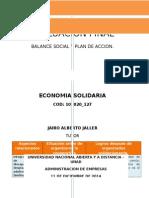 Balance Social- economia solidaria