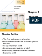 Chapter 2 The Firm and Its Goal