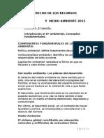 Clases Ramo Recursos Naturales 2015