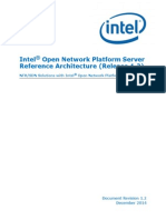 Intel Onp Server Release 1.2 Reference Architecture Guide v1.2