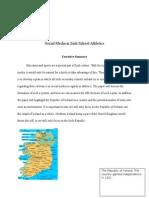 Irish Sport and Social Media
