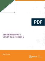 SafeNet MobilePASS User Guide, Version 8.2.0-B
