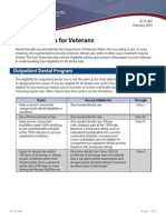 IB10-442 Dental Benefits for Veterans 2 14