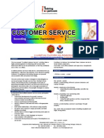 Excellent Customer Service Public Program by ITrainingExpert 2015