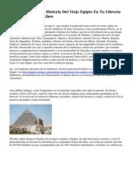 Comprar Libros De Historia Del Viejo Egipto En Tu Libreria En linea Casa Del Libro