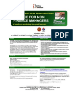 Finance for Non_Finance Managers Public Program Course Brochure by ITrainingExpert 2015 TCW