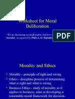 Moral Framework