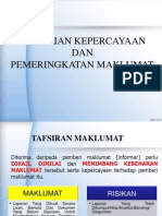 Penilaian Dan Pemeringkatan Maklumat