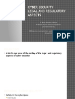 Legal Aspects of Cyber Security