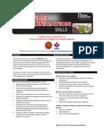 Persuasive Communication Skills Public Program by ITrainingExpert 2015