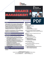 Performance Management Public Program Course Brochure by ITrainingExpert_JN 2015