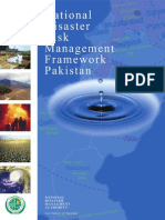 National disaster risk management Framework