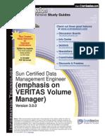 Sun Veritas Vol Mngr 310-101 Data Mng