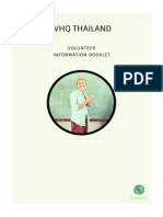 IVHQ Thailand Information Booklet