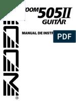 Zoom - 505II Manual