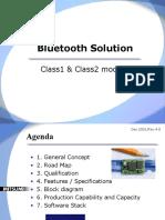 Bluetooth Solution
