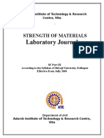 Strength of Materials DOC
