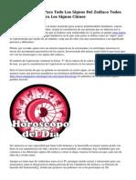 Horoscopo Gratis Para Todo Los Signos Del Zodiaco Todos Los Horoscopos Para Los Signos Chinos
