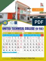 Utec 12x18 Calendar
