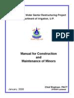 UPWSRP_Manual_Construction_Maintenance_Minors_2008.pdf